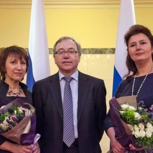 Вручение дипломов лучшим преподавателям вузов Свердловской области