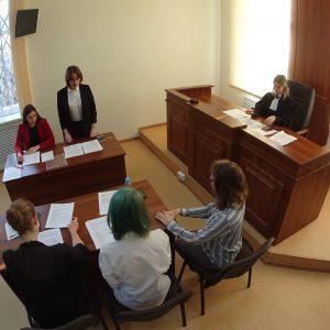 ТРЖ на реконструкции судебного процесса